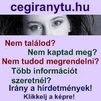 A cegiranytu.hu hírdetményei